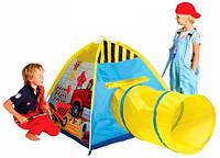 Рабочая станция, игровая палатка с тоннелем, Five Stars (408-15)