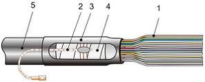 ККТ-3 концевая муфта    (каб.  22-34)