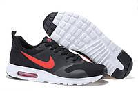 Женские Кроссовки Nike Air Max Transit черно красные, фото 1