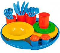 Набор посуды 27 предметов, Lena (65136)