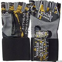 Перчатки тяжелоатлетические VELO 3220