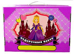 """Подарочный набор для детского творчества """"Принцессы"""" 39 предметов"""