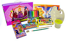"""Подарочный набор для детского творчества """"Принцессы"""" 68 предметов, фото 2"""