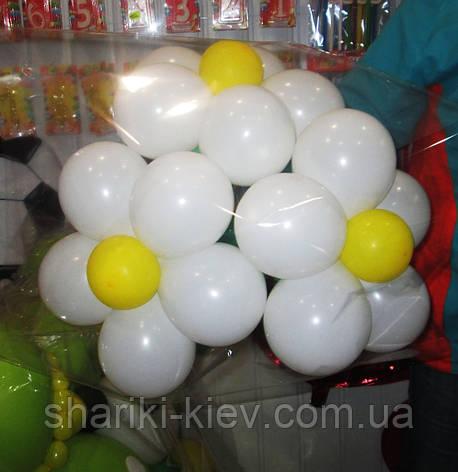 Букет из шариков Ромашки белые на День рождения , фото 2