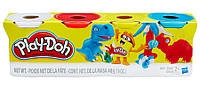 Пластилин - набор из 4 баночек, Play-Doh (B5517)