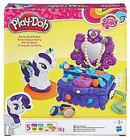 Туалетный столик Рарити (Rarity) набор с пластилином My Little Pony, Play-Doh (B3400)