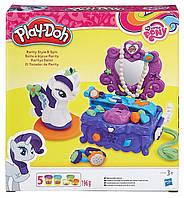 Туалетный столик Рарити (Rarity) набор с пластилином My Little Pony, Play-Doh (B3400)