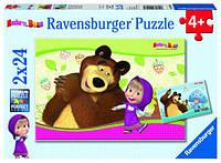 Пазл Маша и Медведь 2х24 Ravensburger (09046R)