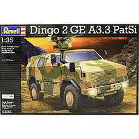 Бронеавтомобиль (2011г.;Германия) ATF Dingo 2 GE A3.3 PatSi, 1:35, Revell (3242)