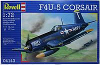 Истребитель (1942г.,США) F4U-5 Corsair, 1:72, Revell (4143)