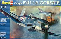 Палубный истребитель Vought F4U-1D Corsair; 1:32, Revell (4781)