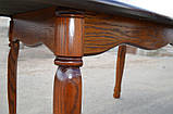Кухонный стол Микс-Мебель Гаити деревянный раскладной 1200-1600*700 мм, фото 4