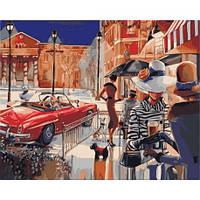 Городской гламур, серия Городской пейзаж, рисование по номерам, 40 х 50 см, Идейка (KH2121)
