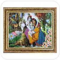"""Набор для вышивки бисером """"473 Кришна и Радха"""""""