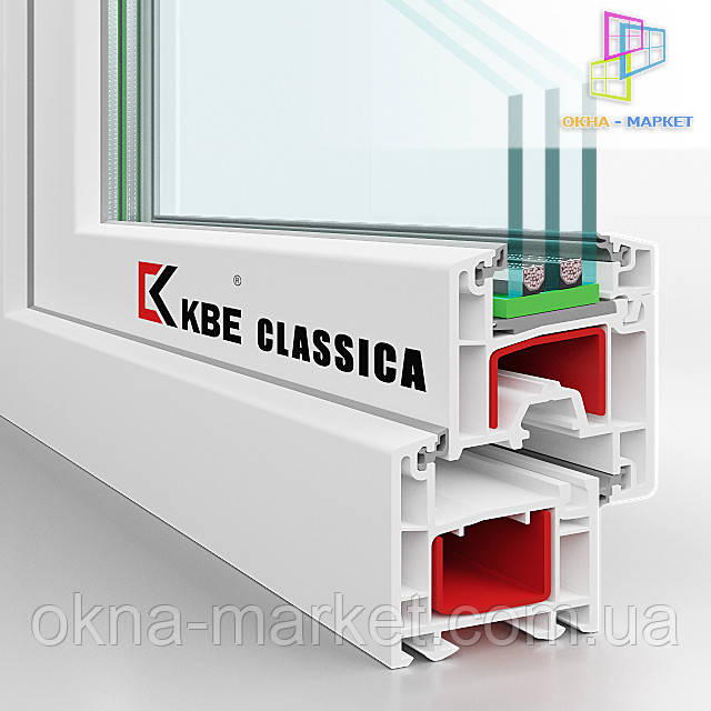 Пластиковые окна KBE Classica