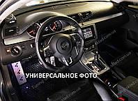 Накладки на панель Ауди 100 (декор на панель Audi 100 под алюминий)