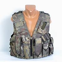 Легкий оригинальный камуфляжный разгрузочный жилет - Код 91-114