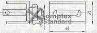 Зажим тросовый ЗТ-5КП