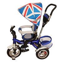 Трехколесный детский велосипед BRITANICA TURBO TRIKE M 3114-1A НАДУВНЫЕ КОЛЕСА - ПОВОРОТНОЕ СИДЕНЬЕ