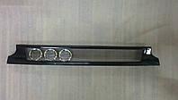 Решетка радиатора ВАЗ 2113 2114 2115 черная 3 кольца бок