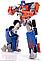 Эксклюзив! Робот-трансформер Оптимус Прайм - Optimus Prime, TF1, Voyager, 19CM, Hasbro, фото 4