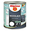 Краска универсальная ALPINA WEISSLACK шелковисто-матовая 2.5л