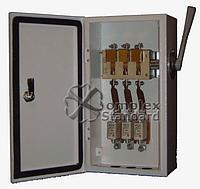 Ящик разрыва с перекидным рубильником и предохранителем ЯПРП-400