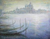 «Пробуждающаяся Венеция» картина маслом