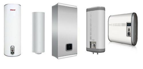 Бойлеры и электрические водонагреватели