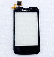 Оригинальный тачскрин / сенсор (сенсорное стекло) для Lenovo A60+ (черный цвет)