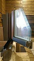 Окна из термоясеня