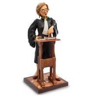 Коллекционная статуэтка Адвокат Forchino, ручная работа FO 84011