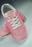 Детские кроссовки в розовом цвете