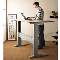 Компьютерный стол-трансформер для работы сидя и стоя с электромотором 501-11 1S156. Длина от 156 см.