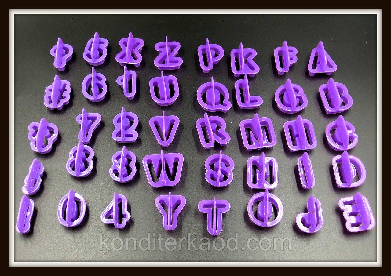 Набор каттеров Английский алфавит+цифры+знаки препинания (40 знаков)