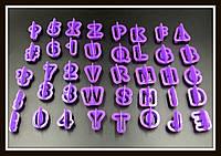 Набор каттеров Английский алфавит+цифры+знаки препинания (40 знаков), фото 1