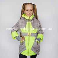 """Детская куртка на девочку """"Модница"""" от производителя"""