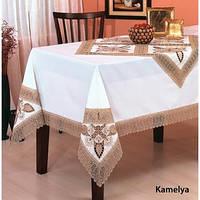 Скатерть ARYA Kayaoglu Kamelya 160x240 см. 1550280 белый