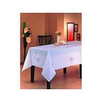 Скатерть ARYA Kayaoglu Rose 160x220 см. 1550343 белый