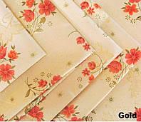 Скатерть Beysu Печатная Комплект С люриксом 160х220 12 салфеток Tabe 1550258
