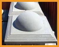"""Крышка для столбика """"Полусфера"""", 450×450мм"""