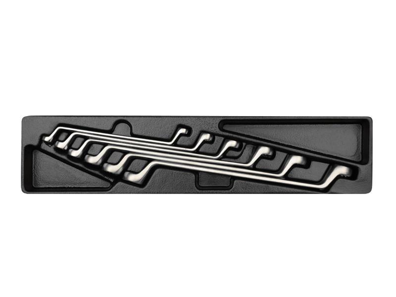 Набор ключей накидных  6 ед. в ложементе (8-19 мм)  KINGTONY 9-1716MR
