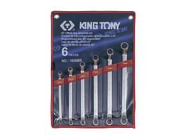 Набор ключей накидных 45 град 6ед KINGTONY 1606MR