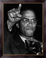 Картина Малкольм  X в Гарлеме на ралли гражданских прав, Неизвестен