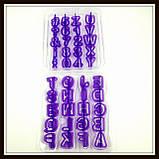 Набор каттеров Английский алфавит+цифры+знаки препинания (40 знаков), фото 2