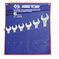 Набор комбинированных ключей (34-55 мм) King Tony 1296MRN 6 предметов