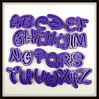 Набор каттеров Английский алфавит (26 знаков)