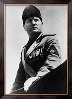 Картина Муссолини в парадной форме, Неизвестен