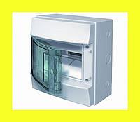 Распределительный щиток навесной Mistral IP65 8M 232x250x155 ABB