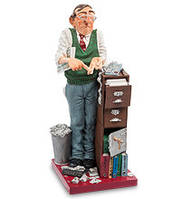 Коллекционная статуэтка Бухгалтер Forchino, ручная работа FO 85536